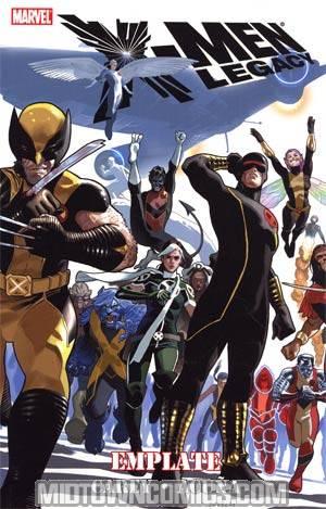 X-Men Legacy Vol 4 Emplate TP