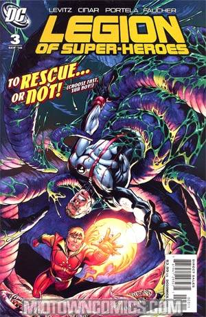 Legion Of Super-Heroes Vol 6 #3 Regular Yildiray Cinar Cover
