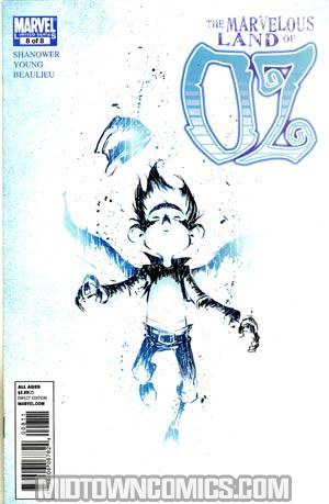 Marvelous Land Of Oz #8 Cover A Regular Skottie Young Cover