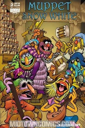 Muppet Snow White #3 Cvr B