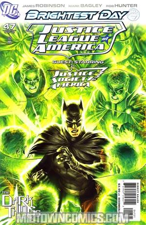 Justice League Of America Vol 2 #47 Incentive Alex Garner Variant Cover (Brightest Day Tie-In)(Dark Things Part 3)
