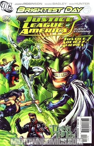 Justice League Of America Vol 2 #47 Regular Mark Bagley Cover (Brightest Day Tie-In)(Dark Things Part 3)