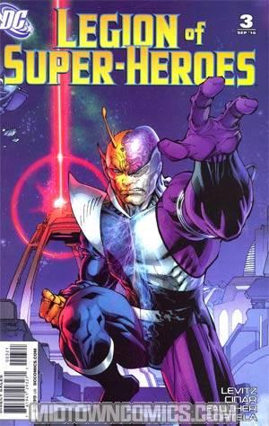 Legion Of Super-Heroes Vol 6 #3 Incentive Jim Lee Variant Cover