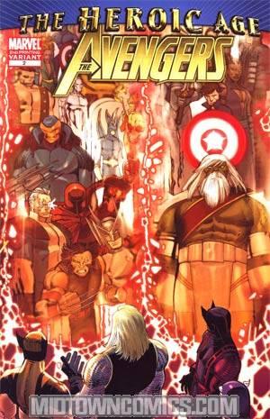 Avengers Vol 4 #2 Cover D 2nd Ptg John Romita Jr Variant Cover (Heroic Age Tie-In)