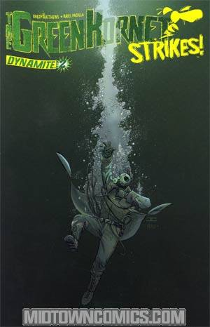 Green Hornet Strikes #2 Cover A Regular John Cassaday Cover