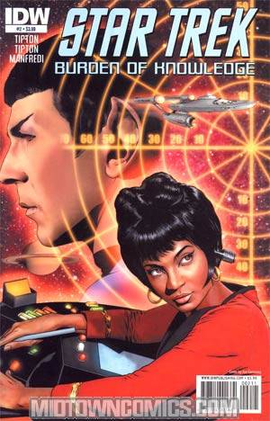 Star Trek Burden Of Knowledge #2 Regular Joe Corroney Cover
