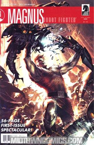 Magnus Robot Fighter Vol 3 #1 Cover A Regular Raymond Swanland Cover