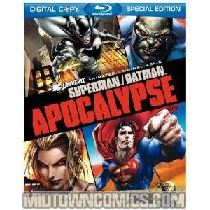 Superman / Batman Apocalypse Blu-ray DVD