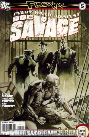 Doc Savage Vol 4 #5 Regular JG Jones Cover