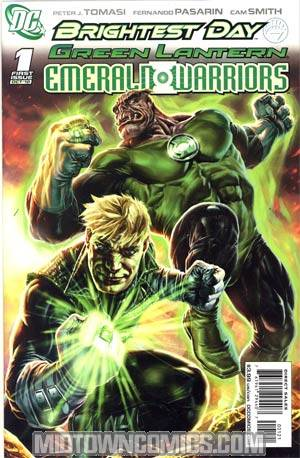 Green Lantern Emerald Warriors #1 Cover B Incentive Lee Bermejo Variant Cover (Brightest Day Tie-In)