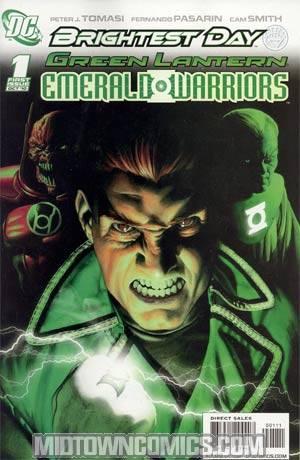 Green Lantern Emerald Warriors #1 Cover A Regular Rodolfo Migliari Cover (Brightest Day Tie-In)