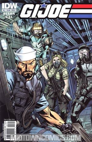 GI Joe Vol 4 #21 Regular Cover B