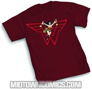 Wonder Woman In-Flight T-Shirt Large