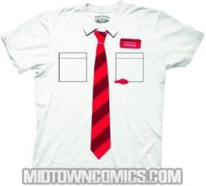 Shaun Of The Dead Trompe Shaun White T-Shirt Large