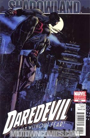 Daredevil Vol 2 #508 Cover B 2nd Ptg Roberto De La Torre Variant Cover (Shadowland Tie-In)