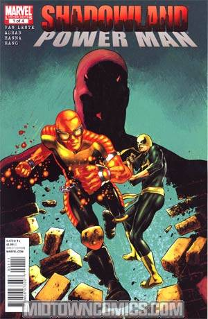 Shadowland Power Man #1 Cover A 1st Ptg
