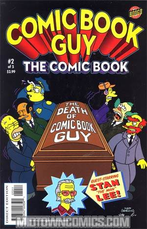 Comic Book Guy The Comic Book The Collectors Edition #2