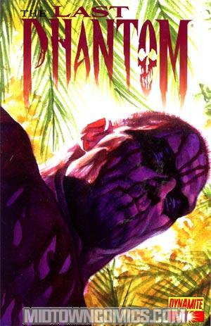 Last Phantom #1 Incentive Alex Ross Issue 2 Sneak Peek Cover