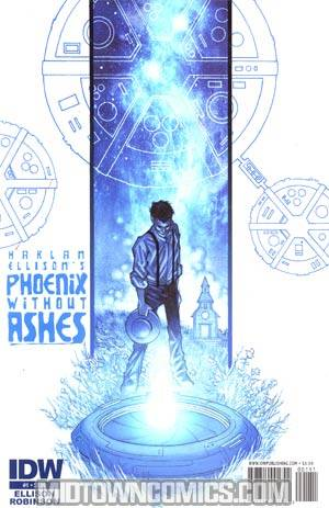Harlan Ellisons Phoenix Without Ashes #1 Regular John K Snyder III Cover