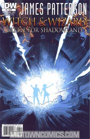 James Pattersons Witch & Wizard #4 Battle For Shadowland