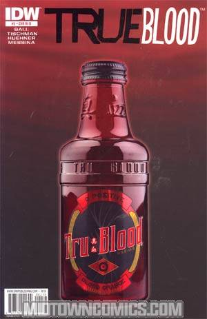 True Blood #2 Incentive Photo Variant Cover