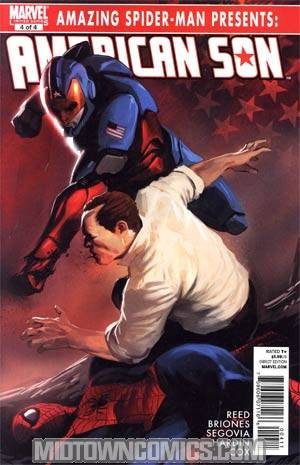 Amazing Spider-Man Presents American Son #4