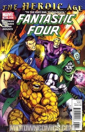 Fantastic Four Vol 3 #582