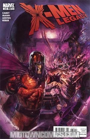 X-Men Legacy #239 Cover A Regular Leinil Francis Yu Cover
