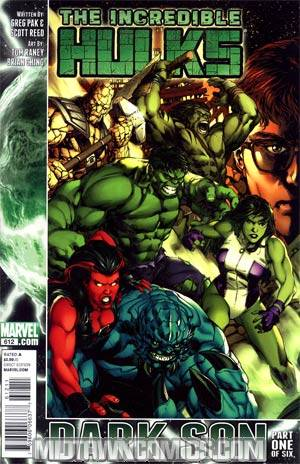 Incredible Hulks #612 1st Ptg Regular Carlo Pagulayan Cover