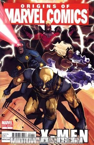 Origins Of Marvel Comics X-Men #1