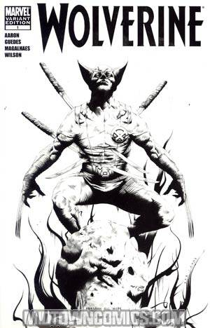 Wolverine Vol 4 #1 Incentive Jae Lee Sketch Cover (Wolverine Goes To Hell Tie-In)