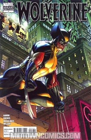 Wolverine Vol 4 #1 Incentive Steve McNiven Variant Cover (Wolverine Goes To Hell Tie-In)