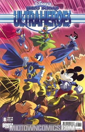 Disneys Hero Squad #8 Cvr A