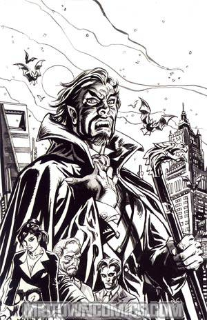 Dracula Company Of Monsters #1 Incentive Dan Brereton Variant Cover