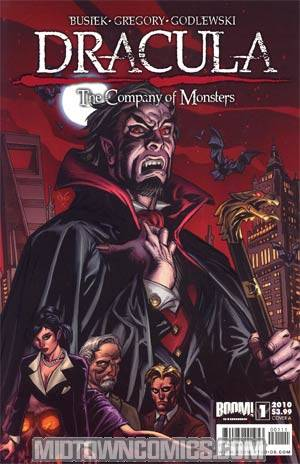 Dracula Company Of Monsters #1 Regular Cover A