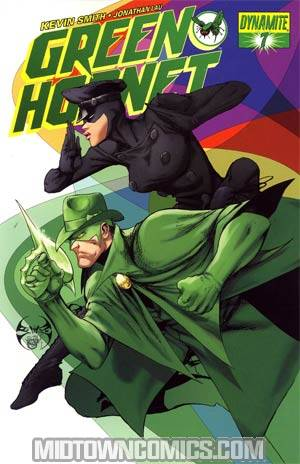 Kevin Smiths Green Hornet #7 Cover C Regular Joe Benitez Cover