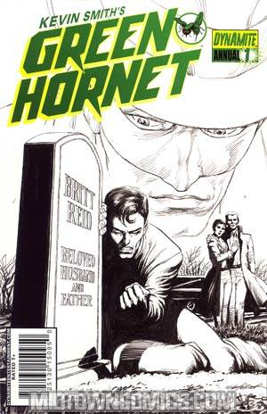 Kevin Smiths Green Hornet Annual #1 Cover C Incentive Mike Netzer Black & White & Green Cover