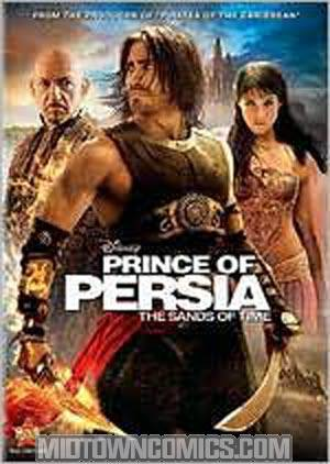 Prince Of Persia Sands Of Time DVD