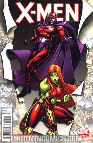 X-Men Vol 3 #3 Incentive Paco Medina Variant Cover (X-Men Curse Of The Mutants Tie-In)