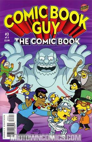 Comic Book Guy The Comic Book The Collectors Edition #3