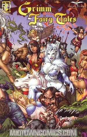 Grimm Fairy Tales #50 Cover B E-Bas Gatefold
