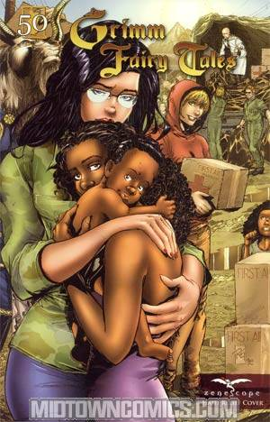 Grimm Fairy Tales #50 Limited Haiti Relief Cover