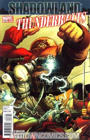 Thunderbolts #148 (Shadowland Tie-In)