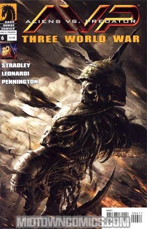 Aliens vs Predator Three World War #6