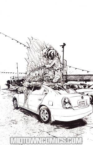 Jurassic Park Redemption #3 Incentive Paul Pope Virgin Sketch Cover