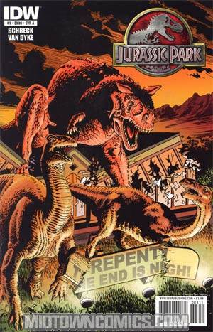 Jurassic Park Redemption #3 Regular Cover A