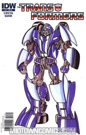 Transformers Vol 2 #11 Incentive Don Figueroa Sketch Design Variant Cover