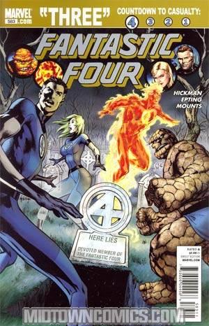 Fantastic Four Vol 3 #583 1st Ptg Regular Alan Davis Cover