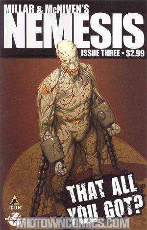 Millar & McNivens Nemesis #3 Cover A 1st Ptg