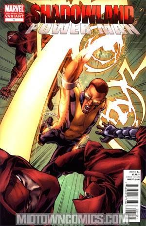 Shadowland Power Man #1 Cover B 2nd Ptg Mahmud Asrar Variant Cover